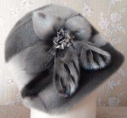 Продам женскую шляпку зимнюю из нерпы б/у. Не ношеная. Нижний Тагил