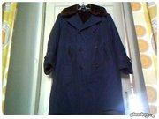 Мужское  зимнее  пальто.
