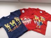 Три футболки с египетским рисунком
