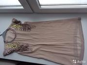 Платье - туника со стразами. Размер 42 - 44