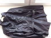 Куртка кожанная новая с воротником стойкой