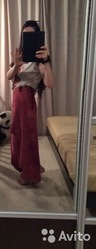 Кожаная юбка новая,  размер 44-46