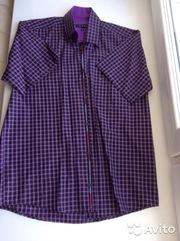 Рубашка новая Tommy Hilfiger скоротким рукавом,  размер 46-48